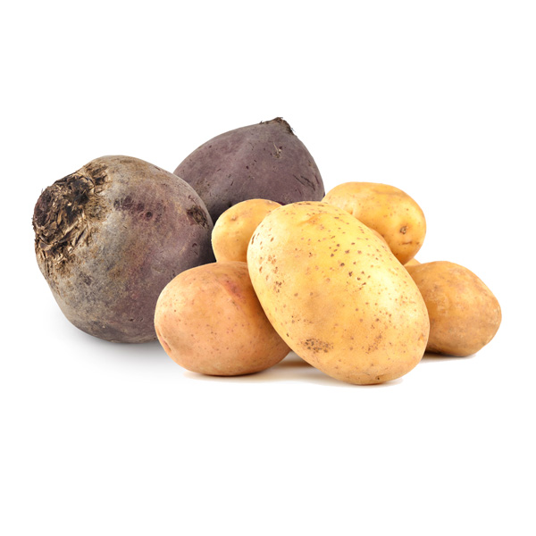 Potatoes and round tuber crops